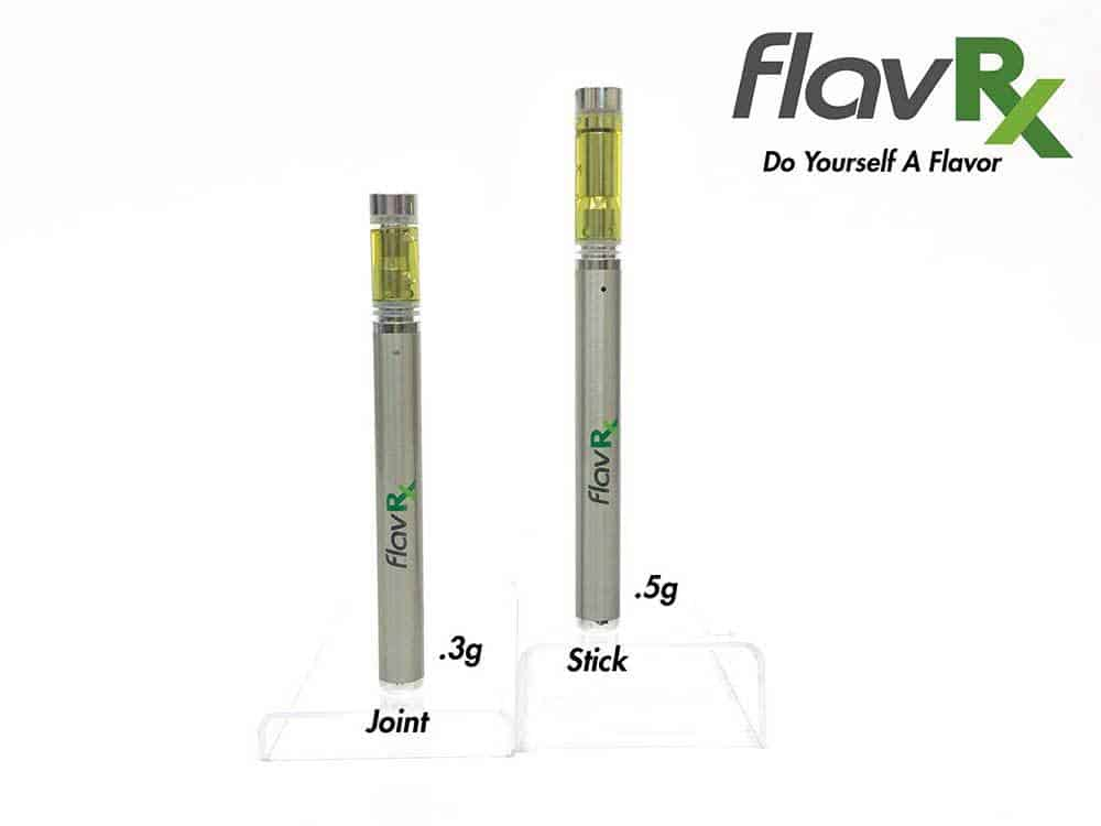 New FlavRX Line Contains Up To 90 Percent THC