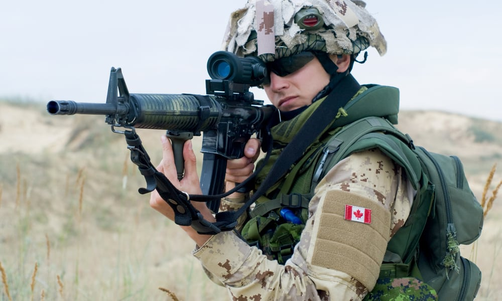 Canadian Armed Forces Wants Weed Simulation Goggles