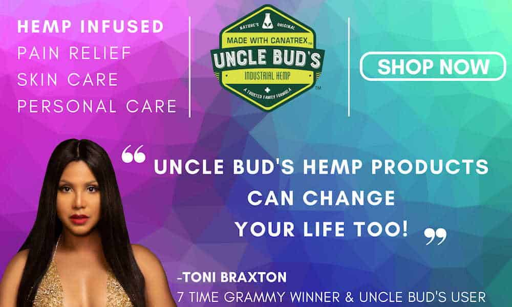 22-Year-Old teams up with Toni Braxton & launches HEMP brand in Big Box Retailers